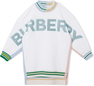 BURBERRY KIDS Logo Jumper Dress