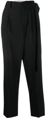 Helmut Lang Cropped Wrap Trousers