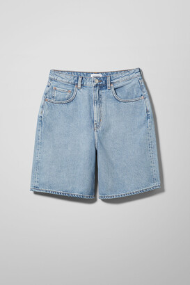 Weekday Dandy Denim Shorts - Blue