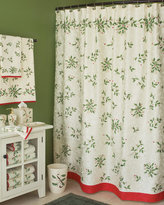 "Lenox 72"" x 72"" Mistletoe Shower Curtain"