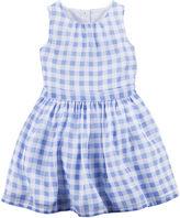 Carter's Gingham Dress - Preschool Girls 4-6x