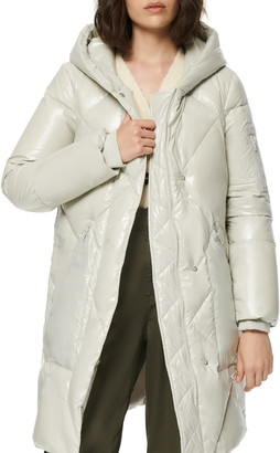 Andrew Marc Borealis Water Resistant Down & Feather Jacket