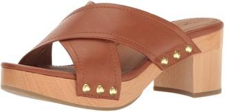 Frye Women's Fiona Slide Platform Sandal Whiskey 6 M US