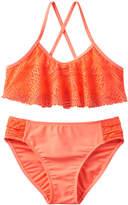 Girls 4-16 SO® Crochet Overlay 2-pc. Bikini Swimsuit Set