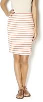 J.o.a. Striped Pencil Skirt