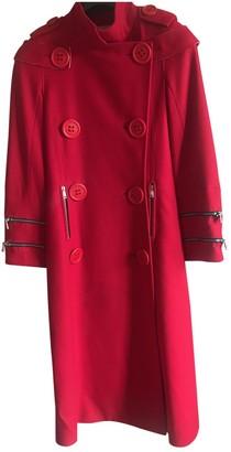 JC de CASTELBAJAC Red Wool Coats