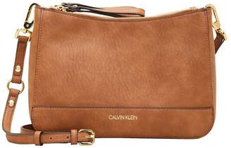 Calvin Klein Elaine Zip Top Crossbody Bag