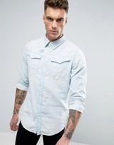 G Star G-Star Arc 3D Denim Regular Fit Shirt