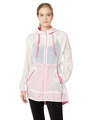 Calvin Klein Women's Transparent Lightweight Jacket