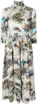 Blugirl jungle print dress