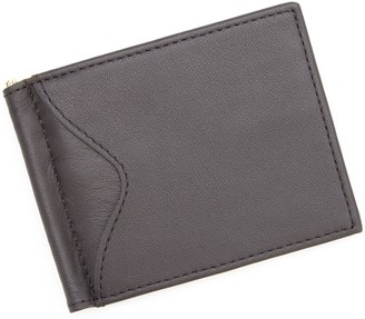 Royce Leather Royce New York Men's Leather Money Clip Walletw/ Outer Pocket