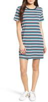 Obey Women's Darkside Stripe T-Shirt Dress