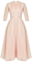 Emilia Wickstead Hera ruffled-organza A-line dress