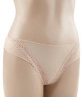 TC Fine Shapewear Wonderful Edge® Micro & Lace Bikini Panty