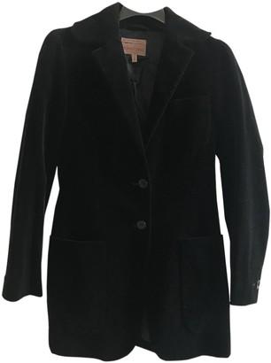 Romeo Gigli Black Velvet Jacket for Women