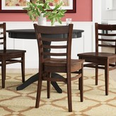 Regal Beechwood Ladder Back Seat Solid Wood Dining Chair