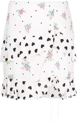 For Love & Lemons Lucia mini skirt