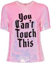 Ashish x browns you can't touch this sequin T-shirt