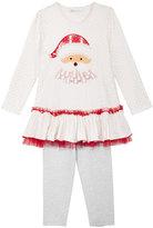 Bonnie Jean 2-Pc. Santa Tunic & Leggings Set, Toddler Girls (2T-5T) & Little Girls (4-6X)