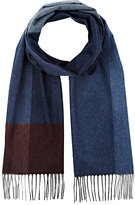 Colombo MEN'S COLORBLOCKED CASHMERE-SILK SCARF