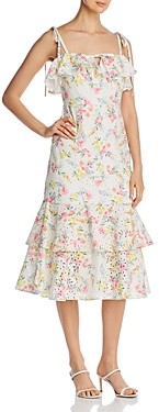 Yumi Kim San Juan Printed Dress
