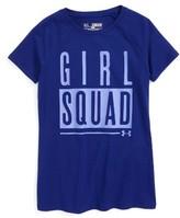 Under Armour Girl's Girl Squad Heatgear Tee