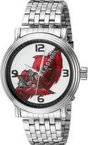 Marvel Men's W002857 Deadpool Analog Display Analog Quartz Watch