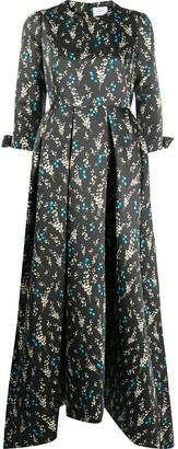 Erdem Helenium floral print gown