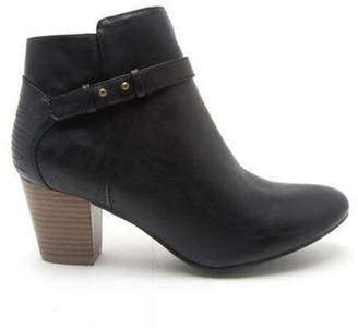 Qupid Black Bootie