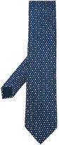 Lanvin square pattern tie