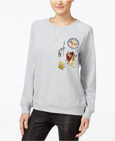 Freeze 24-7 Disney Juniors' The Lion King Patch Graphic Sweatshirt