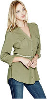 G by Guess GByGUESS Women's Jovie Belted Tunic