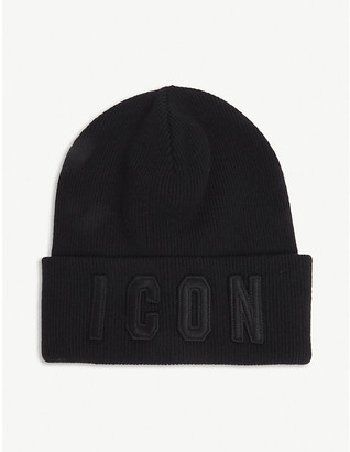 Dsquared2 Acc Icon wool beanie