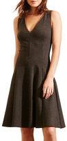 Lauren Ralph Lauren Petite Heathered Ponte Dress