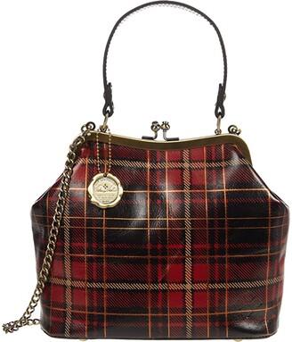 Patricia Nash Laureana Satchel (Red Tartan) Handbags