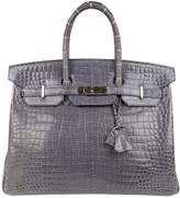Hermes Birkin 35 crocodile satchel