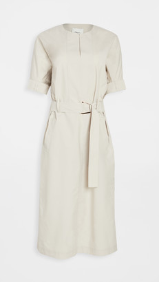 3.1 Phillip Lim Belted Dolman Sleeve Dress