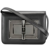 Tom Ford foldover top crossbody bag - women - Calf Leather - One Size