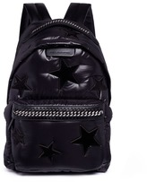 Stella McCartney 'Falabella GO' star patch backpack