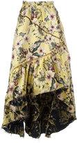 Philosophy Di Lorenzo Serafini - floral print maxi skirt - women - Polyester - 42