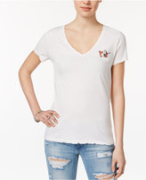 True Religion Distressed Graphic T-Shirt