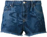 Vivienne Westwood printed denim shorts - women - Cotton - 25