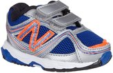 New Balance Colorful Classic 636 (Inf/Tod) - Silver/Blue - 9.5 W Toddler