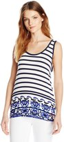 Desigual Women's Knitted T-Shirt Sleeveless 13