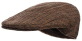Osborne Brown Dogtooth Flat Cap Hat