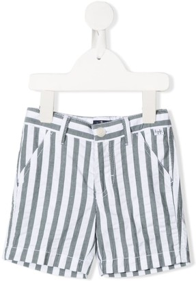 Il Gufo Striped Print Deck Shorts