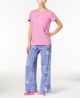 Hue Knit Pajama Set with Socks