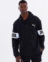 Puma Rebel Full Zip Fleece Hoodie