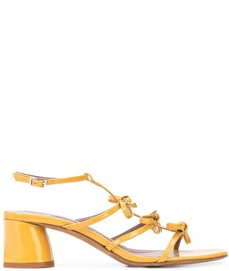 Tabitha Simmons Patent Strappy Sandals