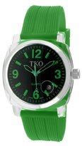 TKO ORLOGI Women's TK549-GGR Unisex Milano Remixed Green Watch